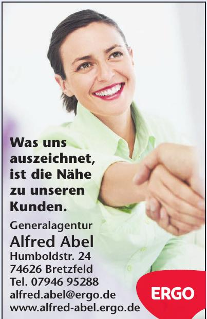 Alfred Abel Ergo