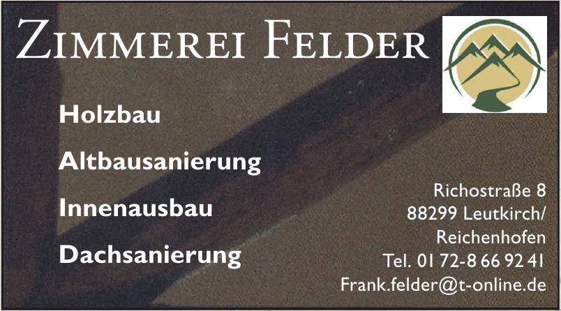 Zimmerei Felder