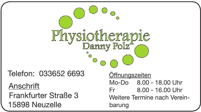 Physiotherapie Danny Polz