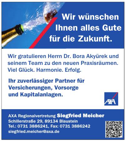 AXA Regionalvertretung Siegfried Meicher