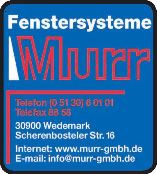 Fenstersystem Murr GmbH