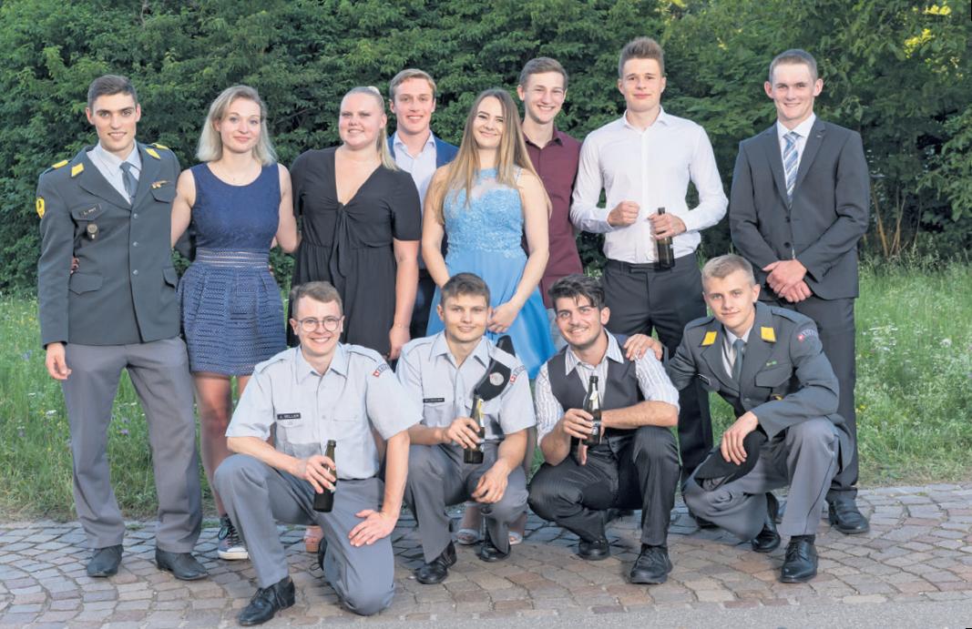 Maturfeier der Berufsschule Aarau.<div><br></div> <div><br></div>