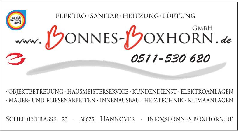 Bonnes Boxhorn GmbH