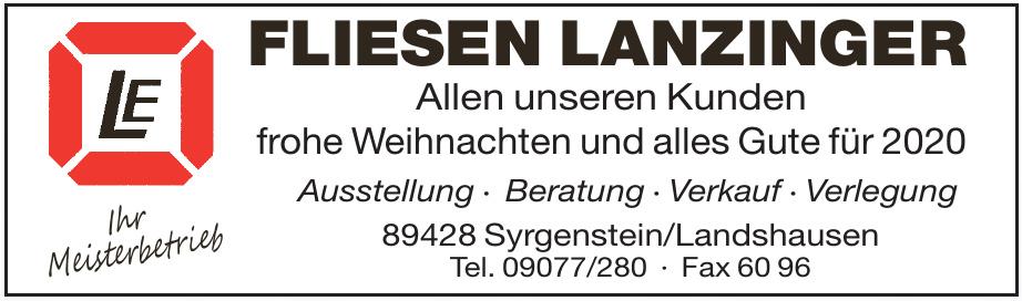 Fliesen Lanzinger