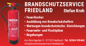 Brandschutzservice Friedland Stefan Kroh