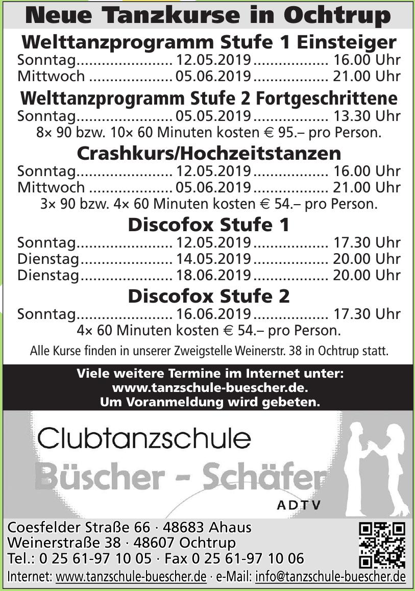 Clubtanzschule Büscher - Schäfer