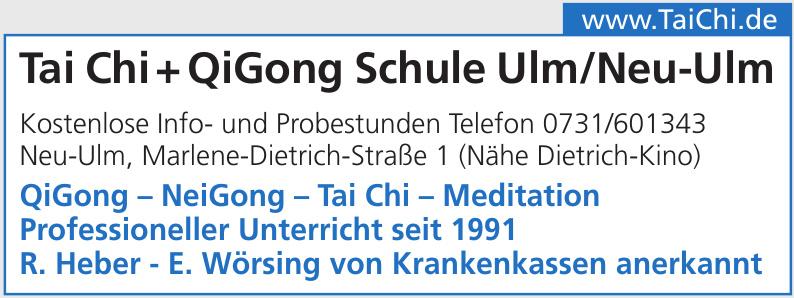 Tai Chi + QiGong Schule Ulm/Neu-Ulm