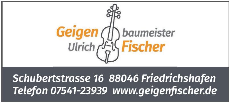 Geigenbaumeister Ulrich Fischer