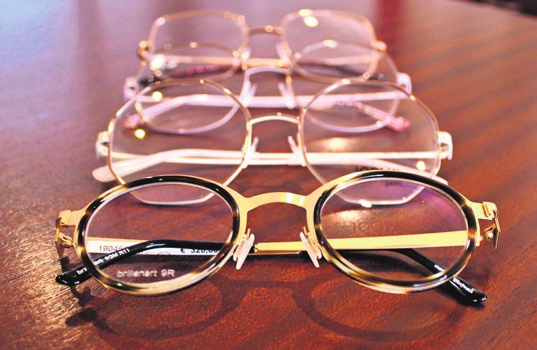 Ob zeitlos oder ausgefallen: Die Auswahl an Brillen bei Optik Bareis kann sich sehen lassen.