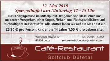 Café-Restaurant Golfclub Dütetal