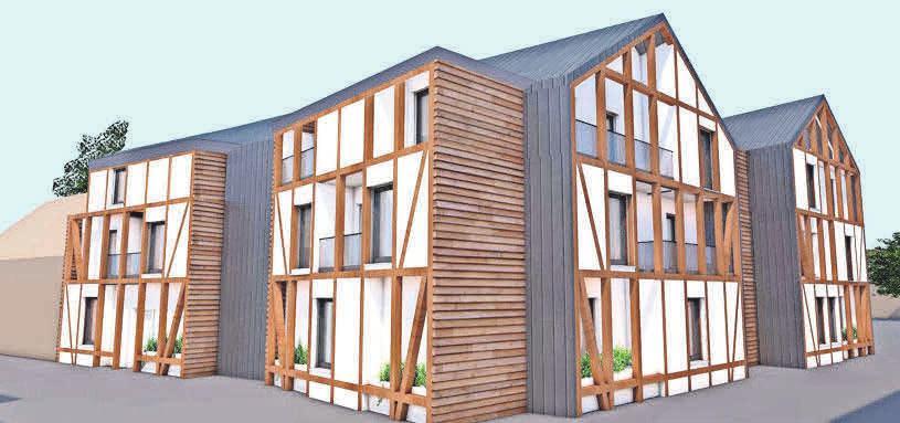 Die Variante 2 ist mit Baukosten von 4.500 Euro pro Quadratmeter der Favorit der Verwaltung. Fotos(3): Wohnbau Salzgitter