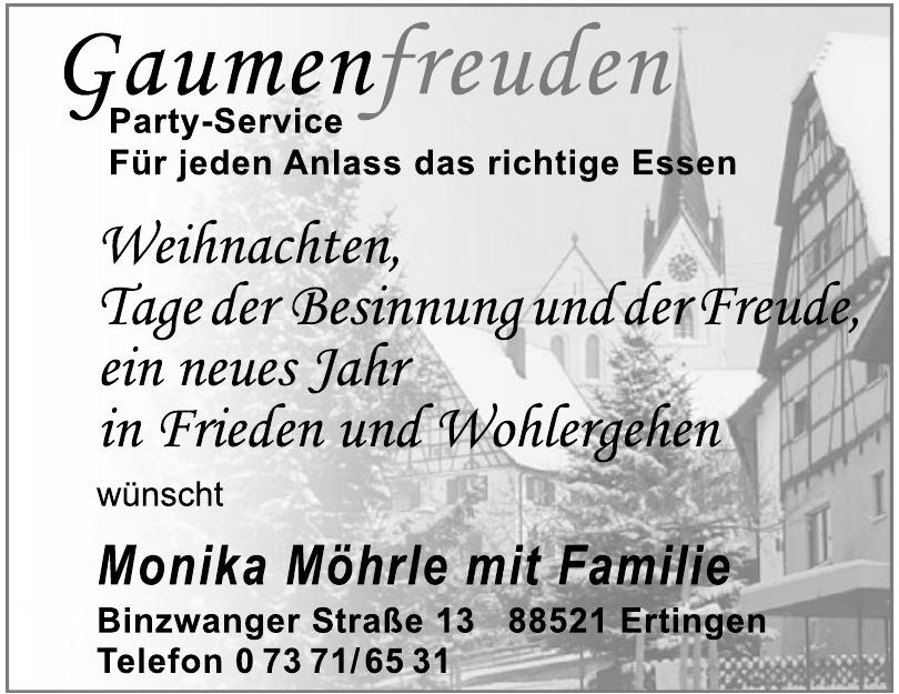 Monika Möhrle mit Familie