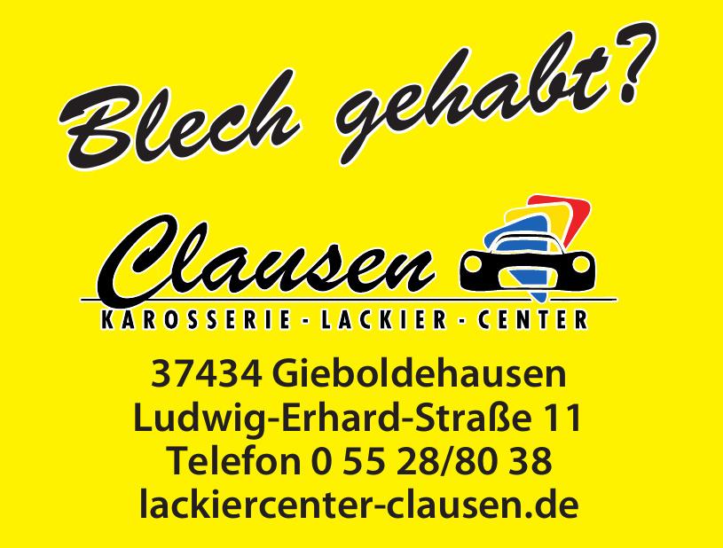 Clausen Karosserie - Lackier - Center