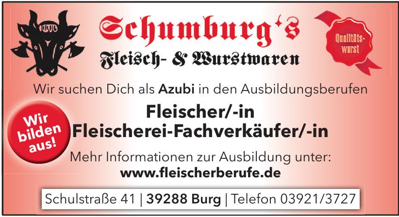 Schumburg´s Fleisch- & Wurstwaren