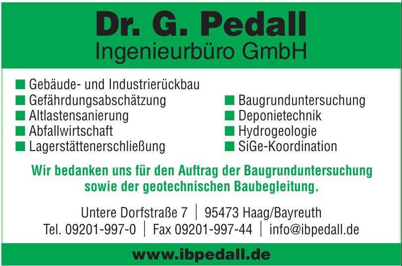Dr. G. Pedall Ingenieurbüro GmbH