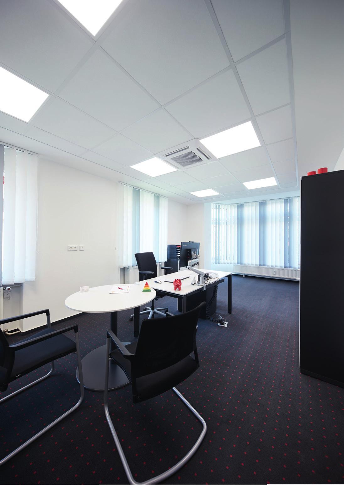 Fünf Beraterzimmer stehen jetzt für Kundengespräche zur Verfügung.