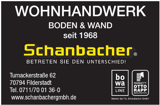 Schanbacher GmbH