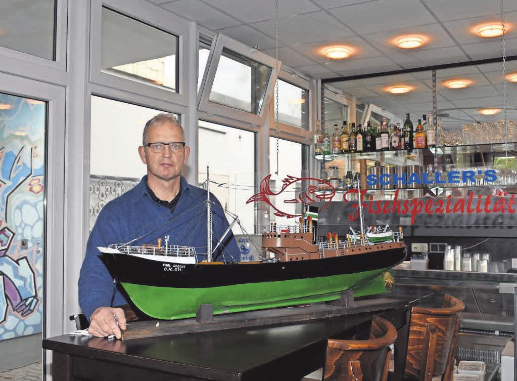 Andreas Frisch betreibt das Frisch-Haus in Kirchrode.