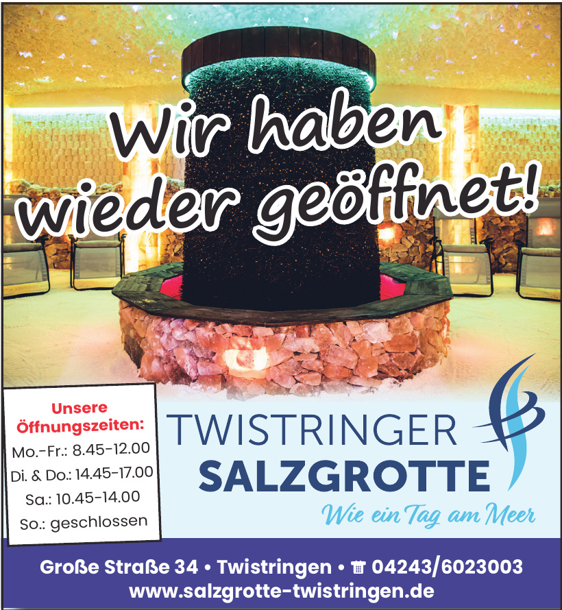 Twistringer Salzgrotte