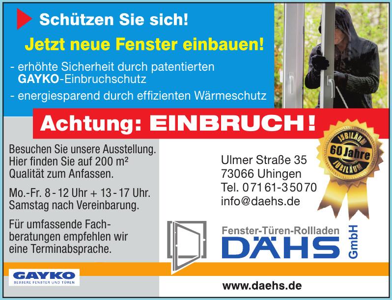 Fenster-Türen-Rolladen Dähs GmbH