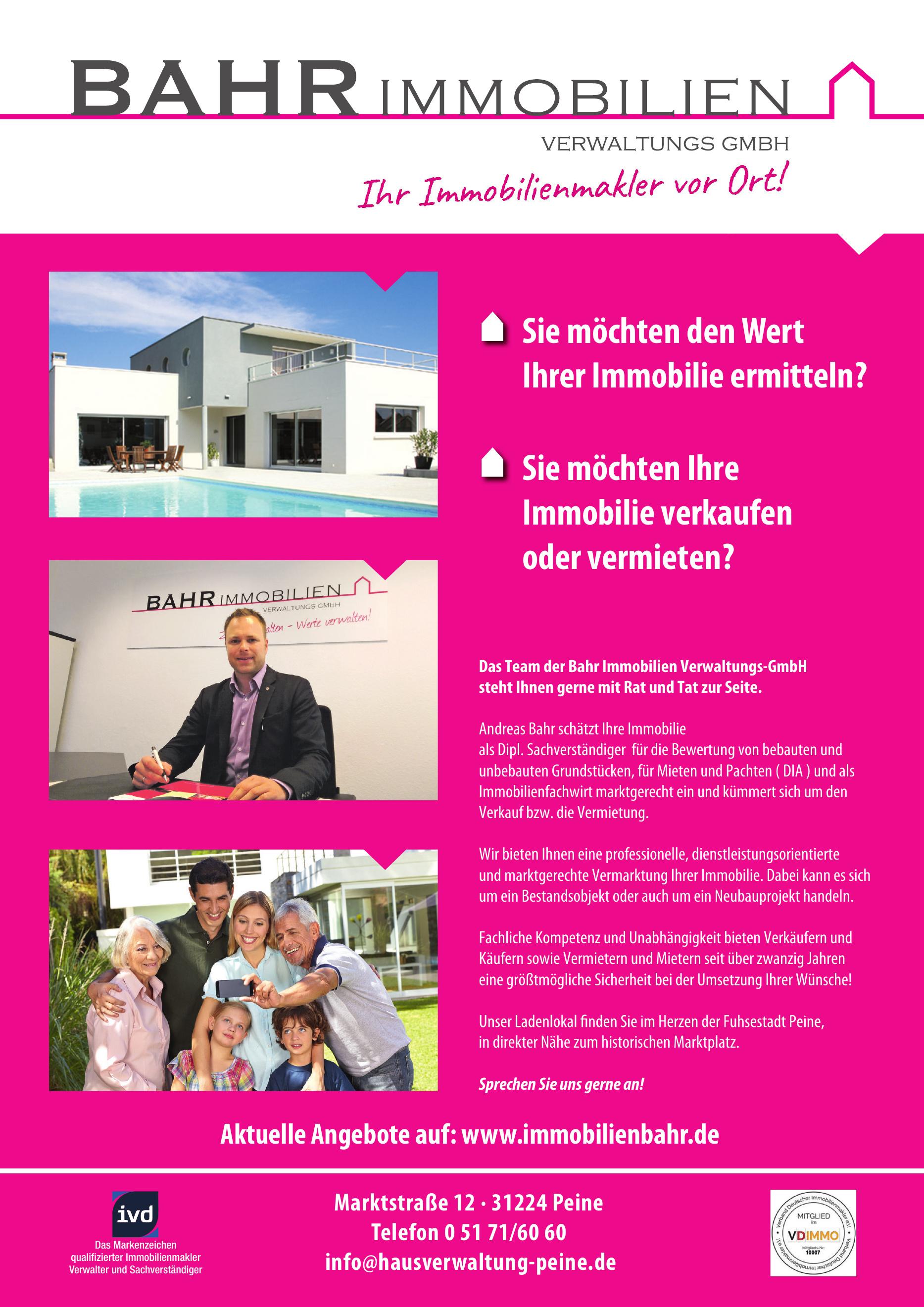 BAHR Immobilien Verwaltungs GmbH