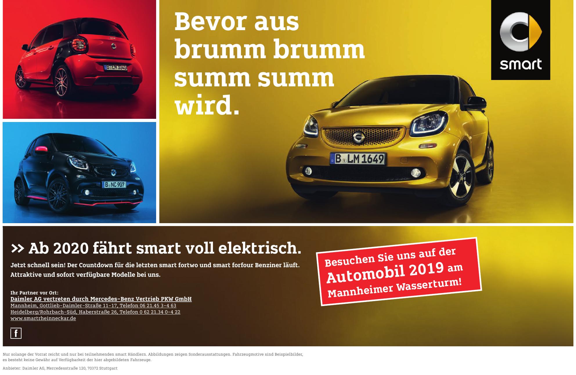 Daimler AG vertreten durch Mercedes-Benz Vertrieb PKW GmbH