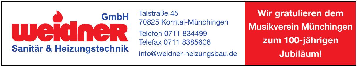 Sanitär & Heizungstechnik Weidner GmbH