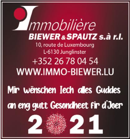 Immobilière Biewer&Spautz s.à r.l.