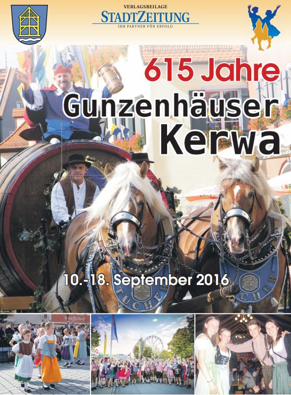 615 Jahre Gunzenhäuser Kerwa