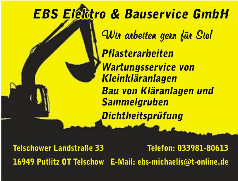 EBS Elektro & Bauservice GmbH