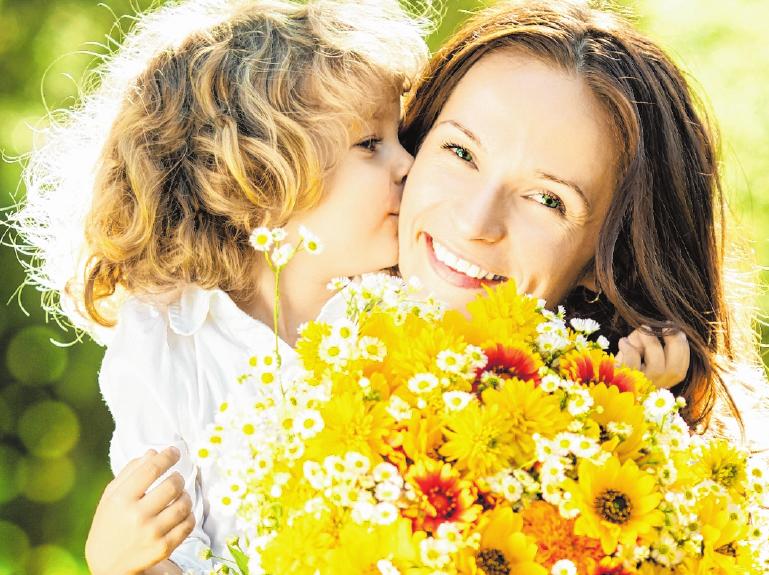 Der Muttertag fand seinen Anfang in den USA. FOTO: GETTY IMAGES