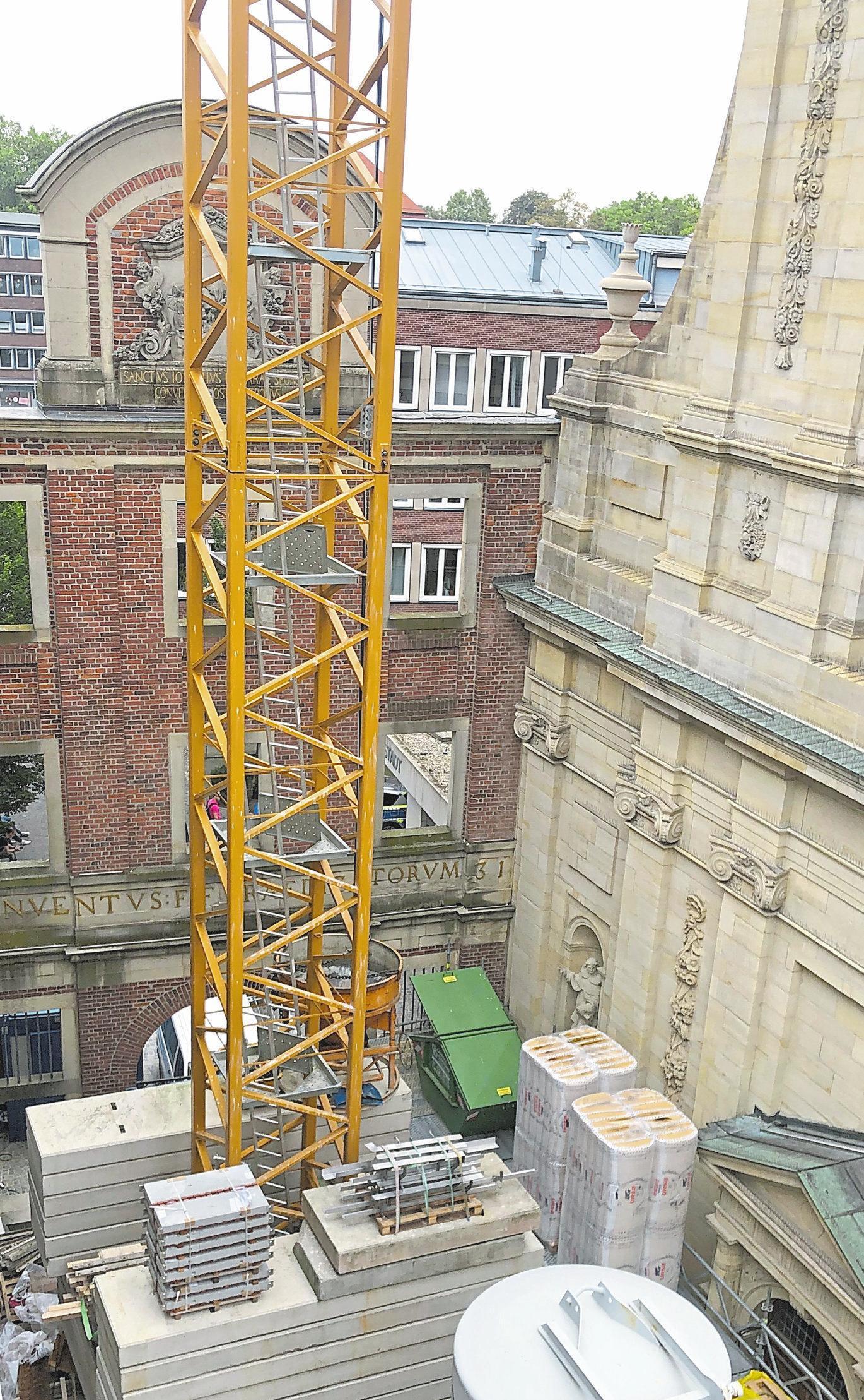 Die neue Praxis befindet sich in unmittelbarer Nachbarschaft der altehrwürdigen Dominikanerkirche. Foto: Radiologie Salzstraße
