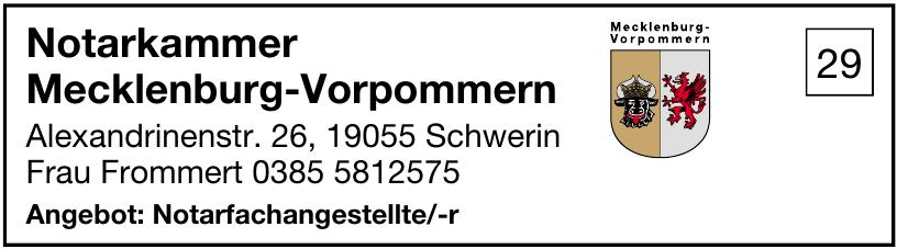 Notarkammer Mecklenburg-Vorpommern