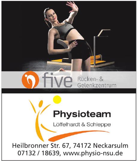 Physioteam Löffelhardt & Schleppe
