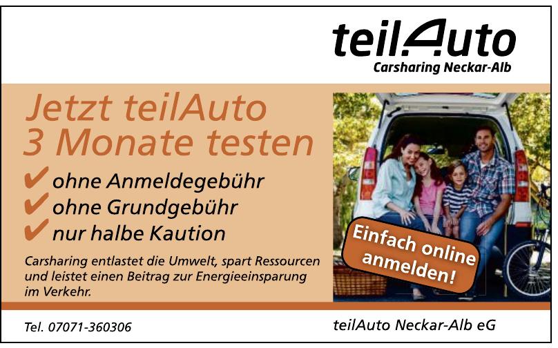 teilAuto Neckar-Alb eG