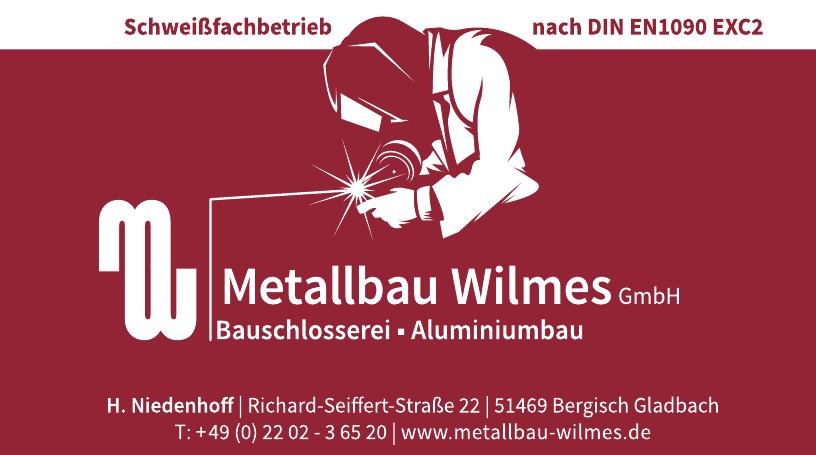 Metallbau Wilmes GmbH
