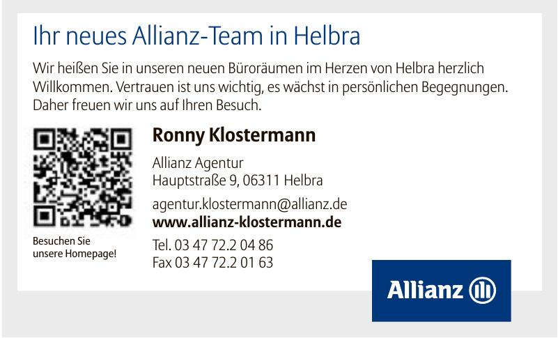 Allianz Ronny Klostermann