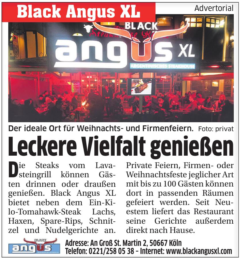 Black Angus XL