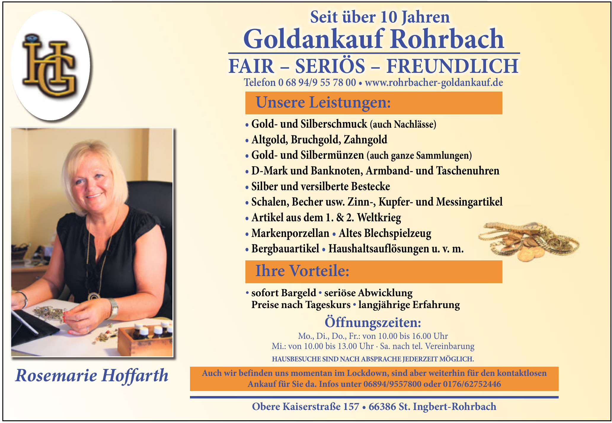 Goldankauf Rohrbach