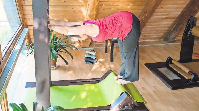 Training und Yoga in einem: fle-xx-Training sorgt für eine bessere Haltung und Beweglichkeit.