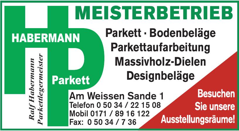 Ralf Habermann Parkettlegermeister