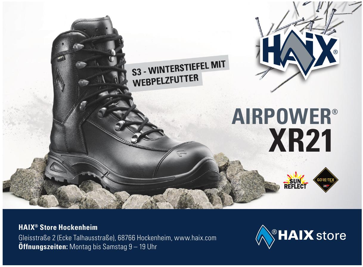 HAIX® Store Hockenheim