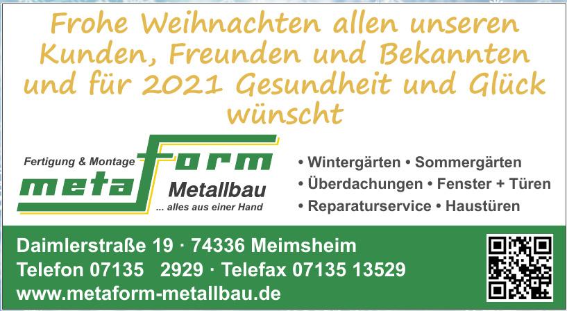 Metaform Metallbau