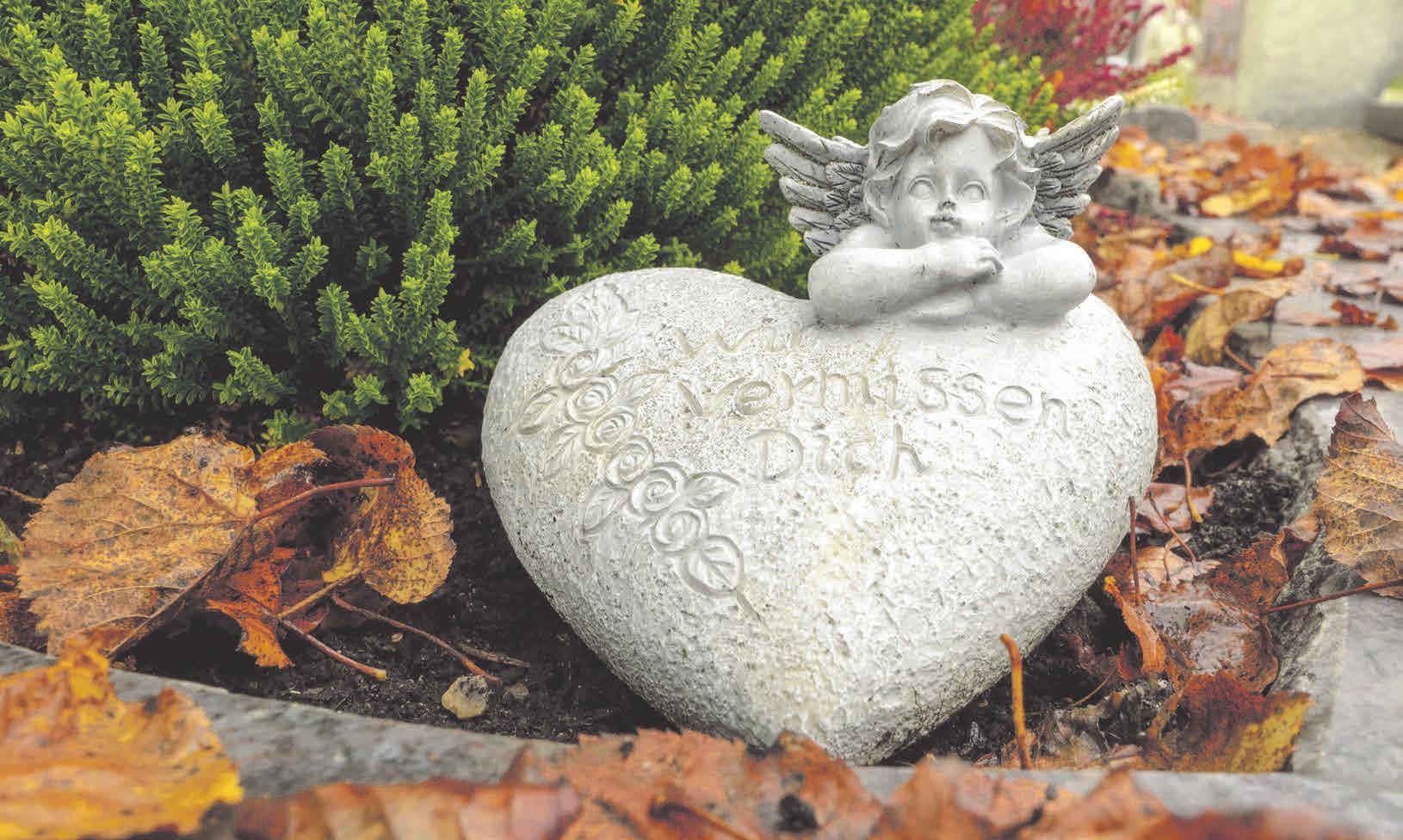 Der Tod eines geliebten Menschen ist für die Hinterbliebenen derzeit noch bedrückender.       Foto: pxhere.com