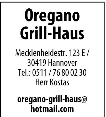 Oregano Grill-Haus