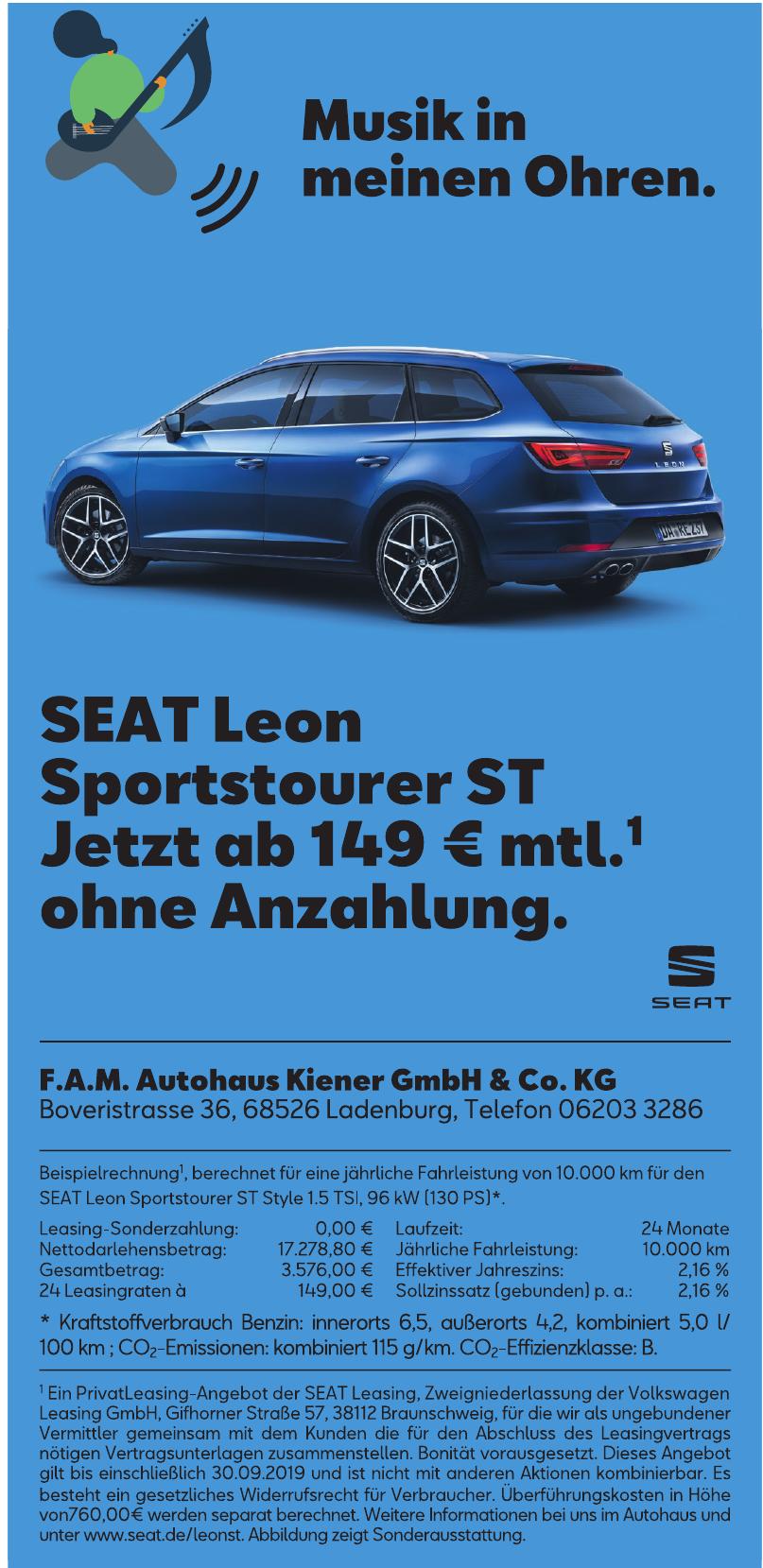 F.A.M. Autohaus Kiener Gmbh & Co. Kg