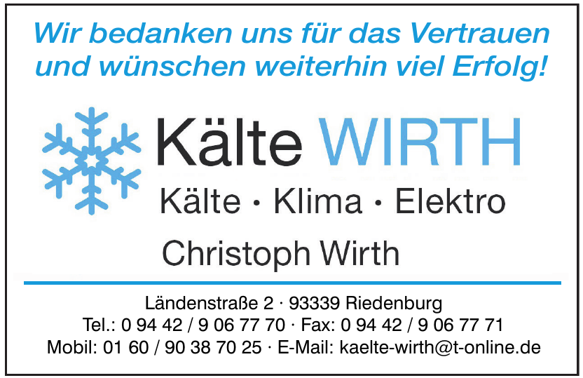 Kälte Wirth