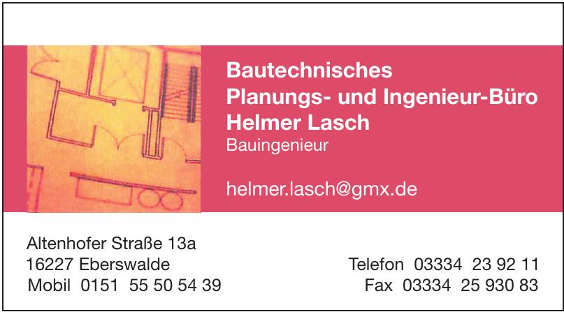 Bautechnisches Planungs- und Ingenieur-Büro Helmer Lasch