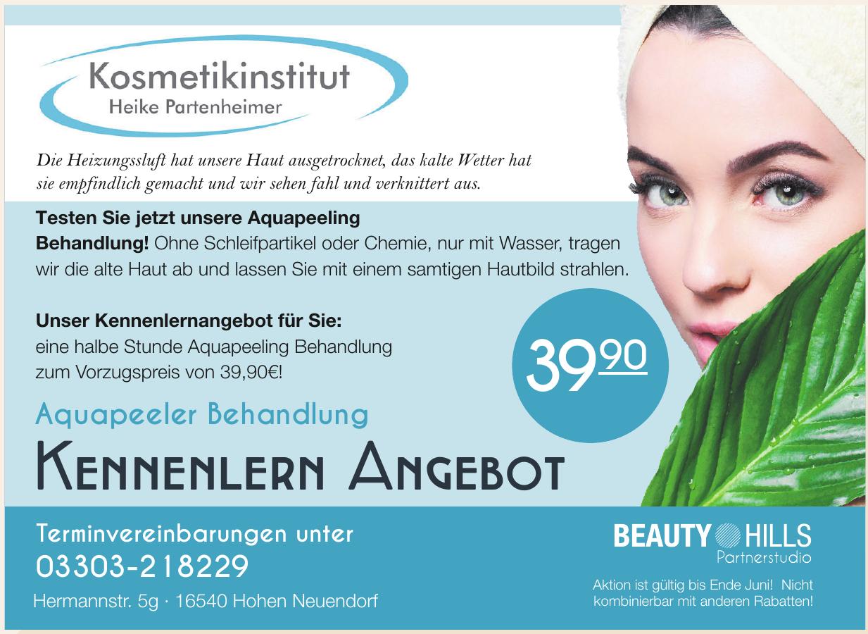 Kosmetikinstitut Heike Partnenheimer
