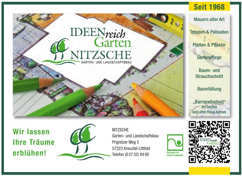 NITZSCHE Garten- und Landschaftsbau